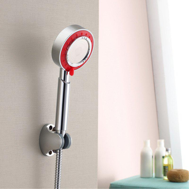 Hot Hand Held Pressure Shower Three-Function with 1.5m Hose and Base Set Three Remov