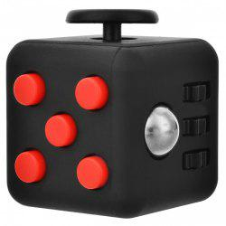 Minismile Updated Version Fidget Dice Cubic Toy for Focusing / Stress Relieving -
