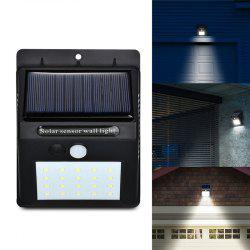 20 LEDs Solar Power PIR Motion Sensor Wall Light Outdoor Waterproof Energy Save -