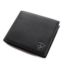 Men'S Wallet Slim Front Pocket Wallet Billfold Money Clip -