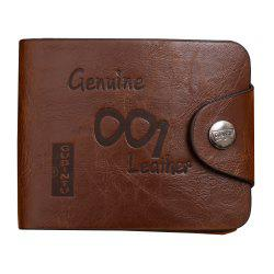 Genuine Leather Men Wallets Luxury Credit Cards Coin Purse Male Small Wallet -
