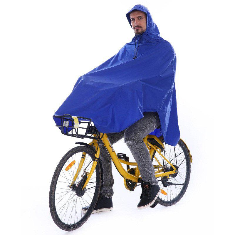 Buy Waterproof Rain Poncho Bike Bicycle Rain Coat Capes Compact Scooter Cover