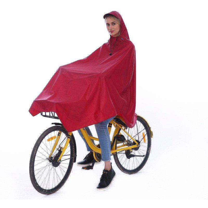 Unique Waterproof Rain Poncho Bike Bicycle Rain Coat Capes Compact Scooter Cover