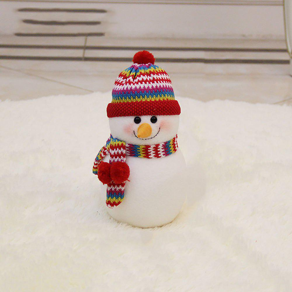Latest The Snowman Doll Is Stuffed with Christmas Decoration
