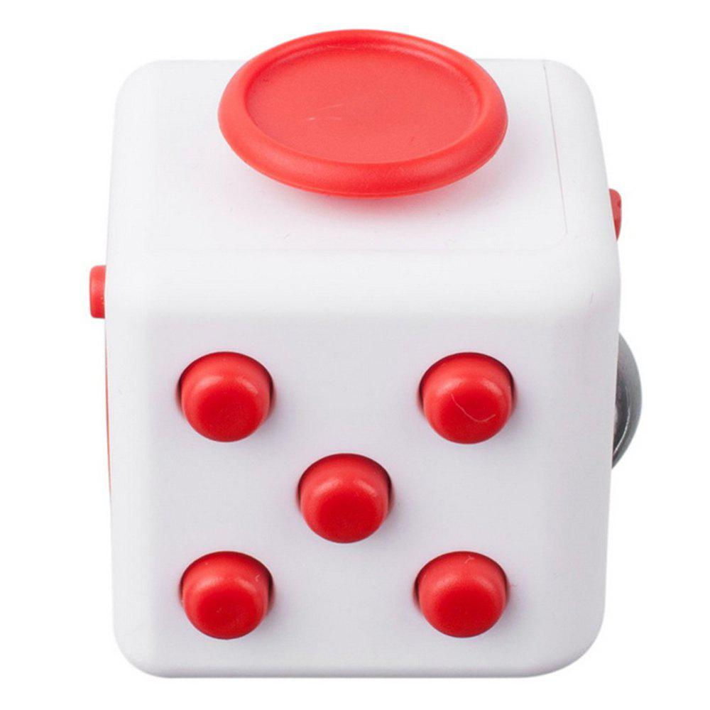 Trendy Minismile Updated Version Release Stress Fidget Dice Cubic Toy for Focusing