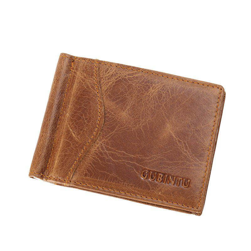 Store Handmade Leather Men Wallets Multi-Functional Cowhide Coin Purse Wallet For Men
