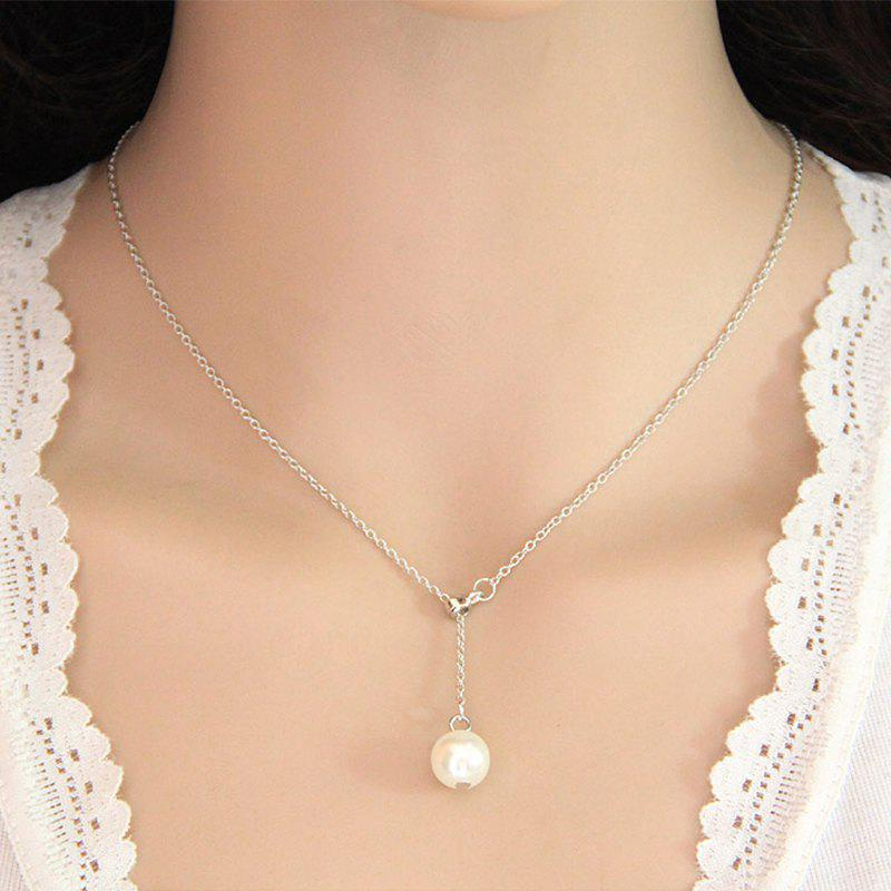 Outfits Fashion Sweet Simple Bead Pendant Adjustable Necklace