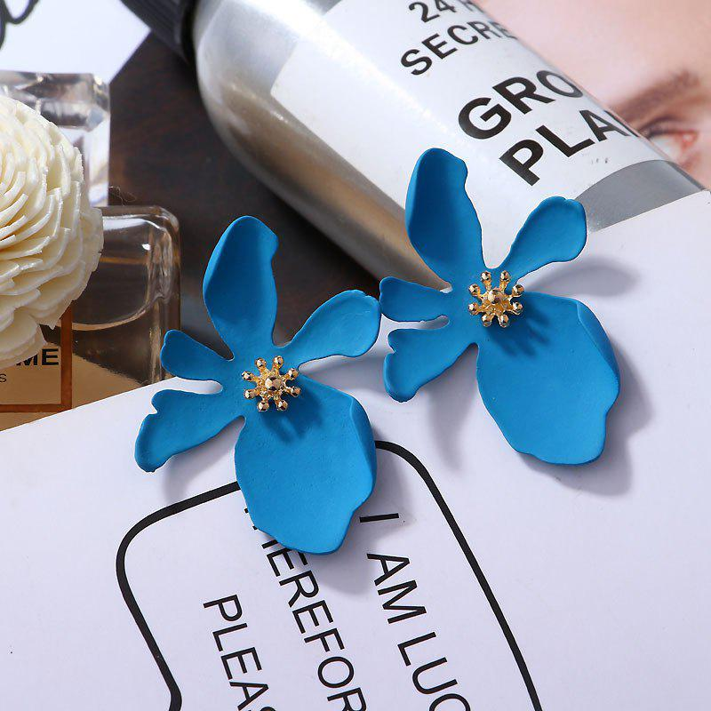 Outfits Fashion Simple Daisy Flower Petals Earrings