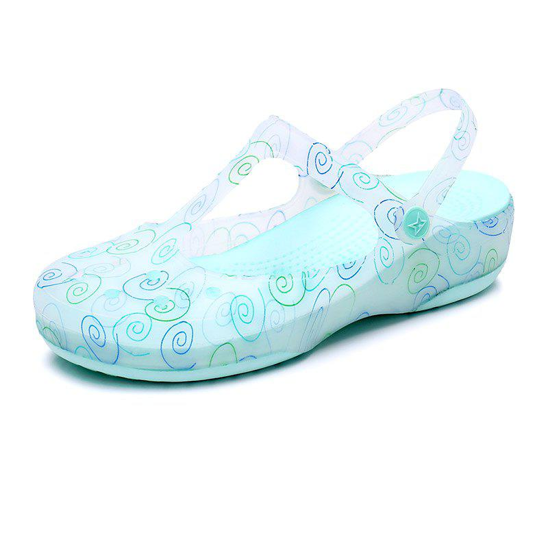 Shops Cool Slippers Female Color Holes Shoes