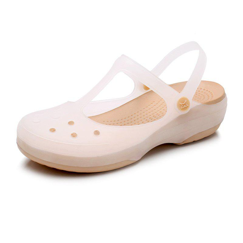 Best Jelly Non-Slippery Beach Hole Shoes