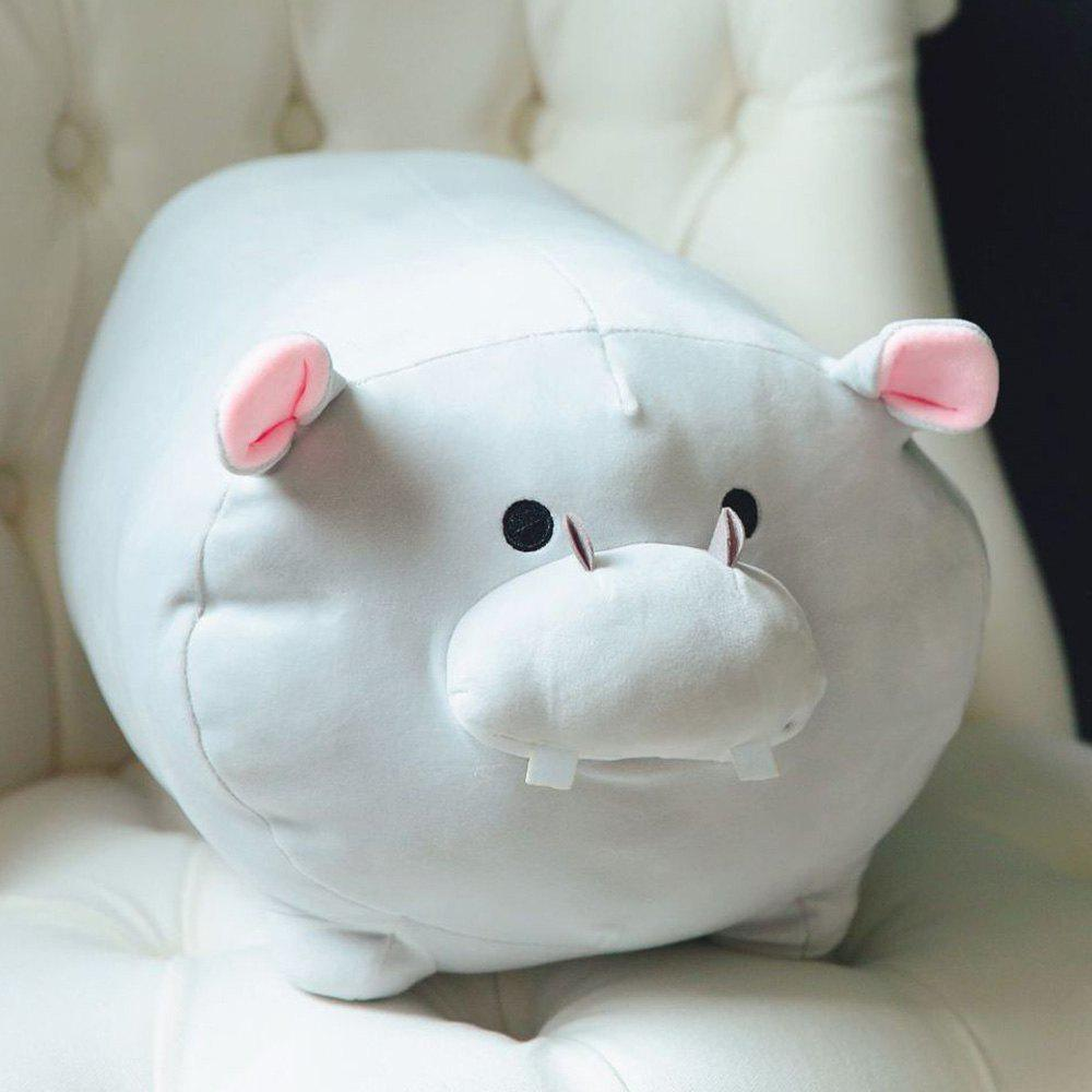 Store Hippo Stuffed Animal Stretchy Hippopotamus Plush Pillow Cuddly  Adorable Gift