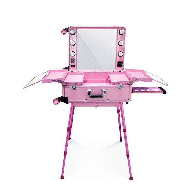 2019 Professional Makeup Cosmetic Case Beauty Trolley Suitcase With