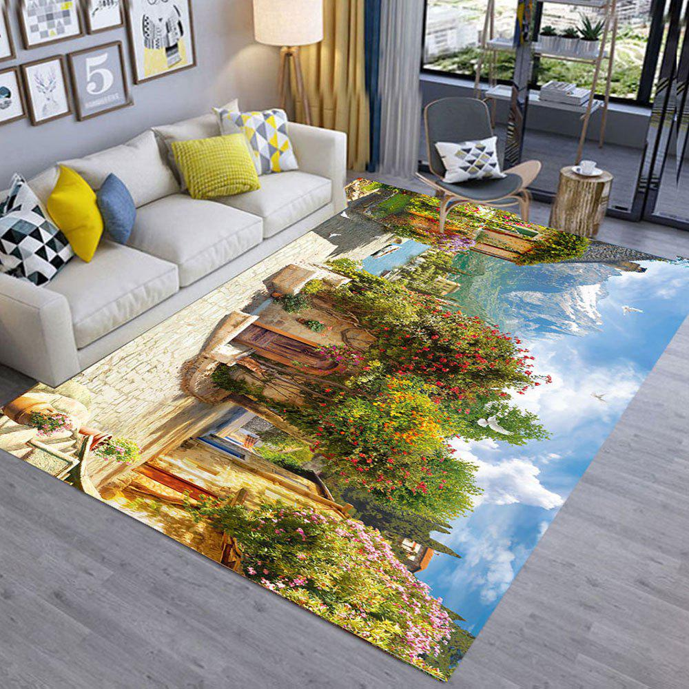 91% OFF] Floor Mat 3D Scenery Pattern Home Living Room Mat | Rosegal