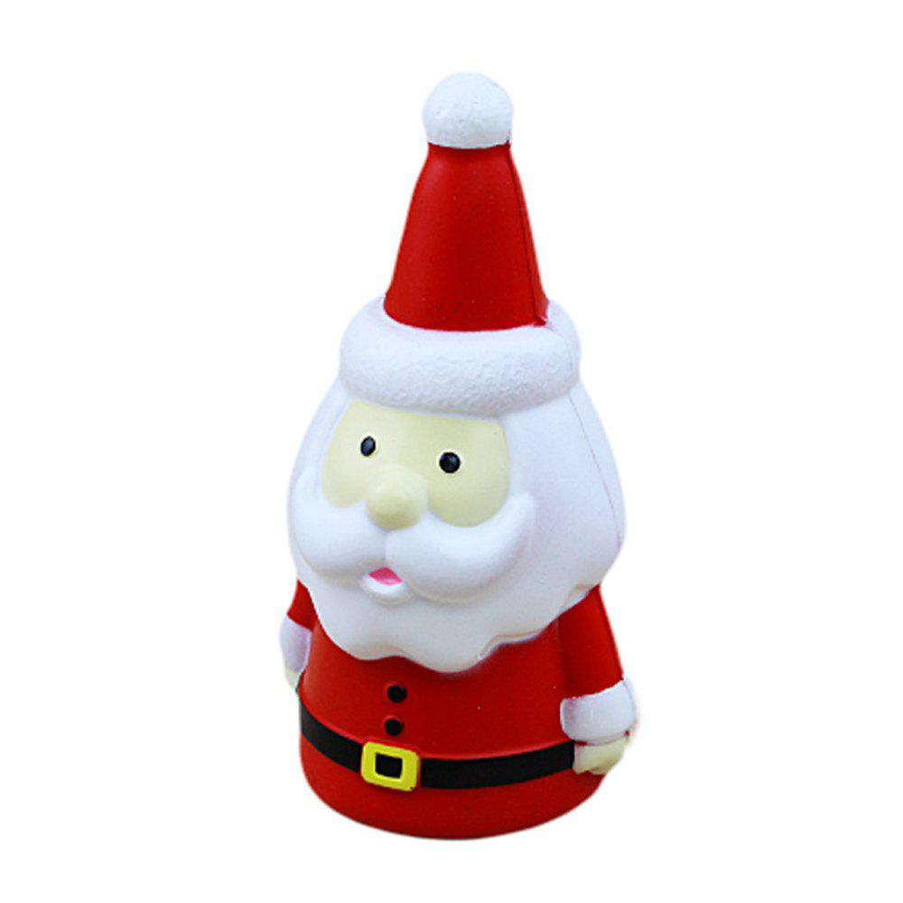 Discount Squishy Red Santa Claus Toys