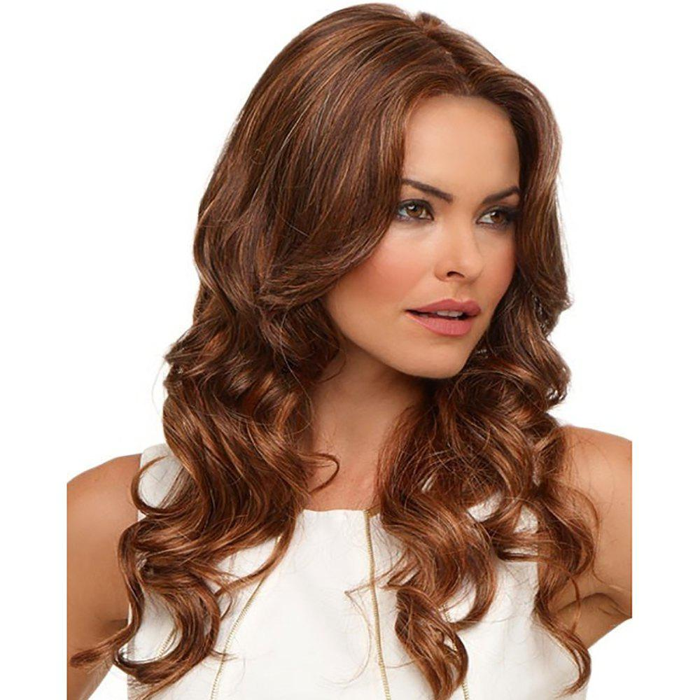Store Stylish Sexy Lady Halve Long Curly Hair High Temperature Synthetic Wig