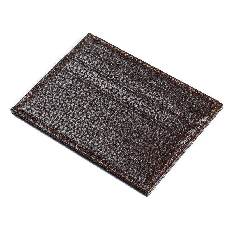 Affordable Fashion Ultra-Thin Card Bags More Than Men for Zero Wallet Small Card Bag