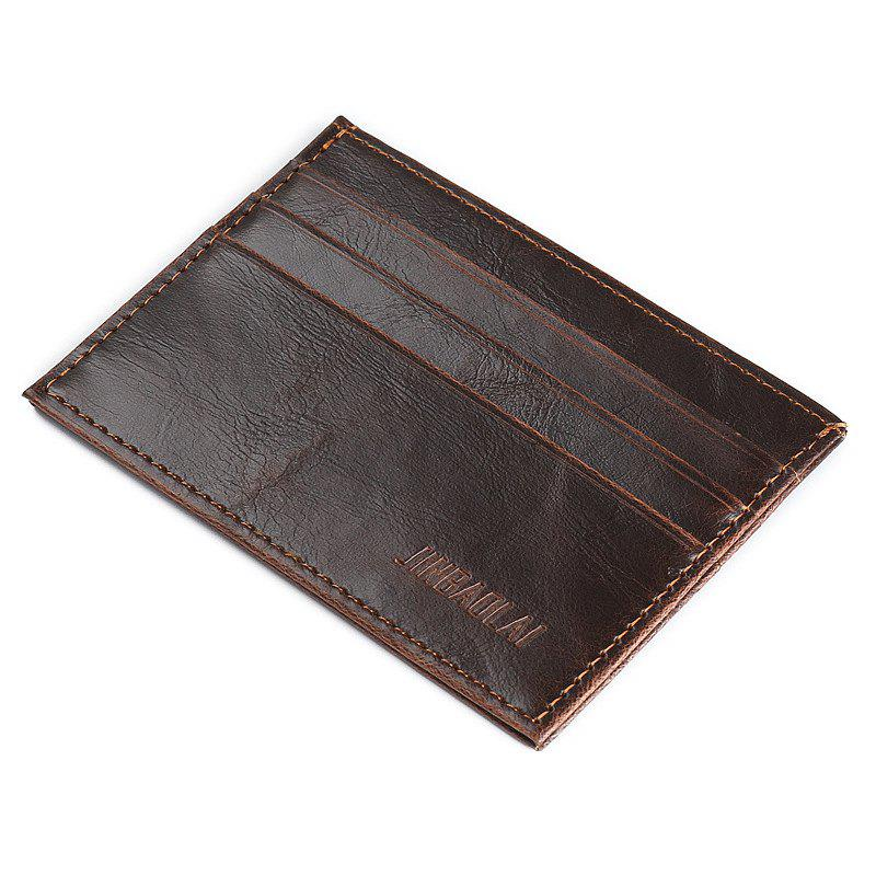 Store Fashion Ultra-Thin Card Bags More Than Men for Zero Wallet Small Card Bag