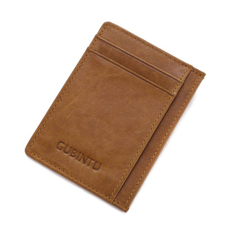 Fashion Men with Creative Card Number for Card Bag Contracted Bus Card Sets