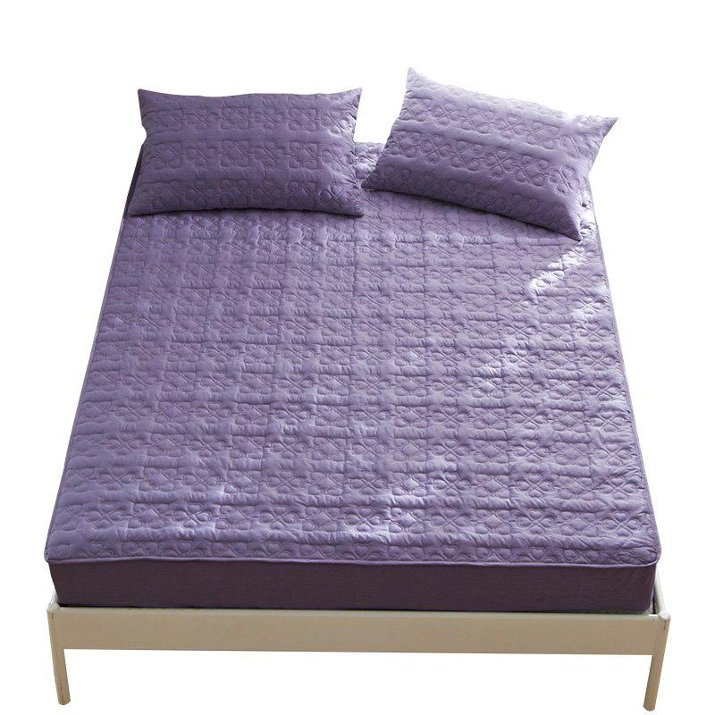 Trendy Full Cotton Lucky Star Fitted Bed Sheet