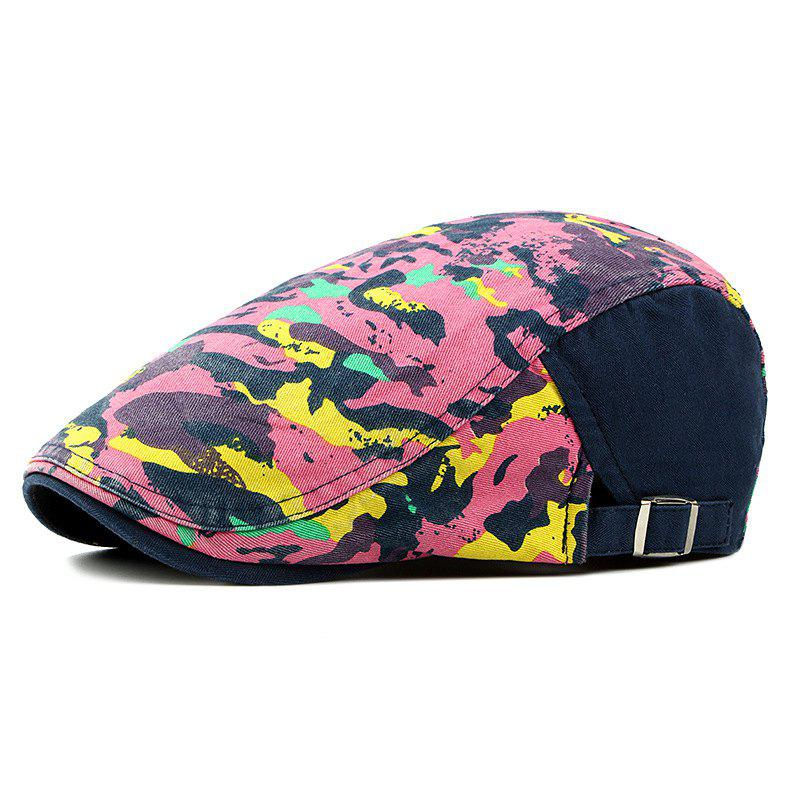 Shop Beret men and women spring and summer trend camouflage cap female fashion breath