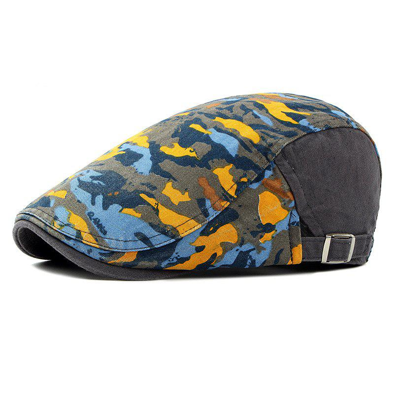 Fancy Beret men and women spring and summer trend camouflage cap female fashion breath