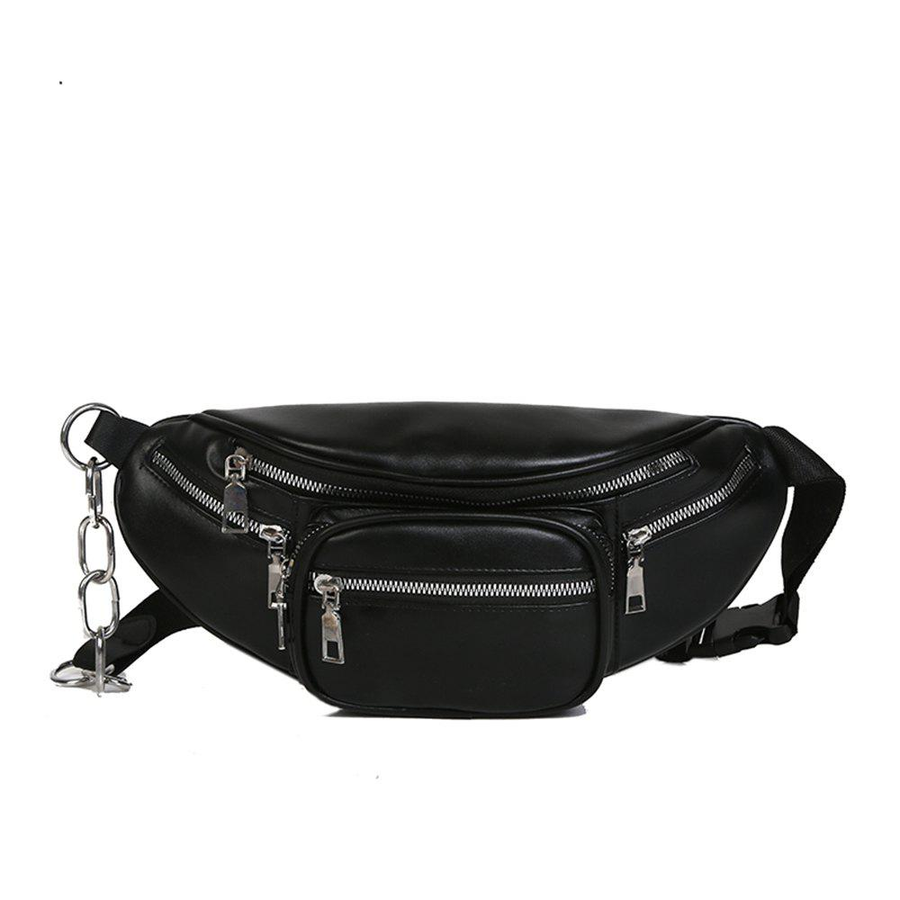 Fancy Fashion PU Ladies Messenger Bag Casual Travel Neutral Waist Bag