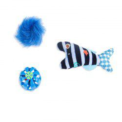 A Three-Piece Grinding Claws Cats Interactive Educational Ideas Mint Small Bell -