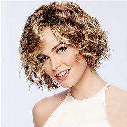 Stylish Vitality Lady Fluffy Short Curly Hair High Temperature Wig -