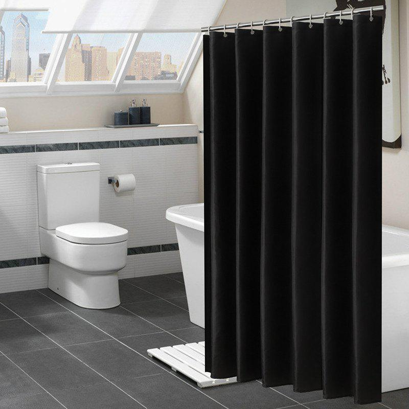 Sale Solid Color Shower Curtain Waterproof Bathroom Partition