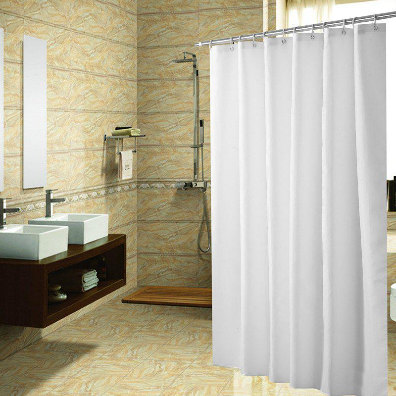 Online Solid Color Shower Curtain Waterproof Bathroom Partition