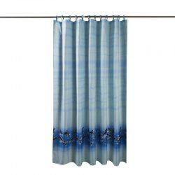 Dolphin Thick Waterproof and Mildew Thick Polyester Cloth Shower Curtain -