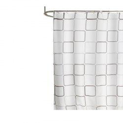 Large Square Polyester Cloth Waterproof Mildew Shower Curtain -