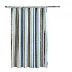 Romantic Striped Home Mildew Polyester Shower Curtain -