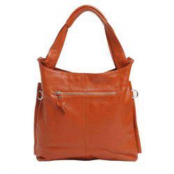 Real Leather Handbag With Tote Bag For Ladies -
