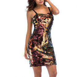 New Sexy Sequined Tube Top Slim Fit Hip Strap Dress -