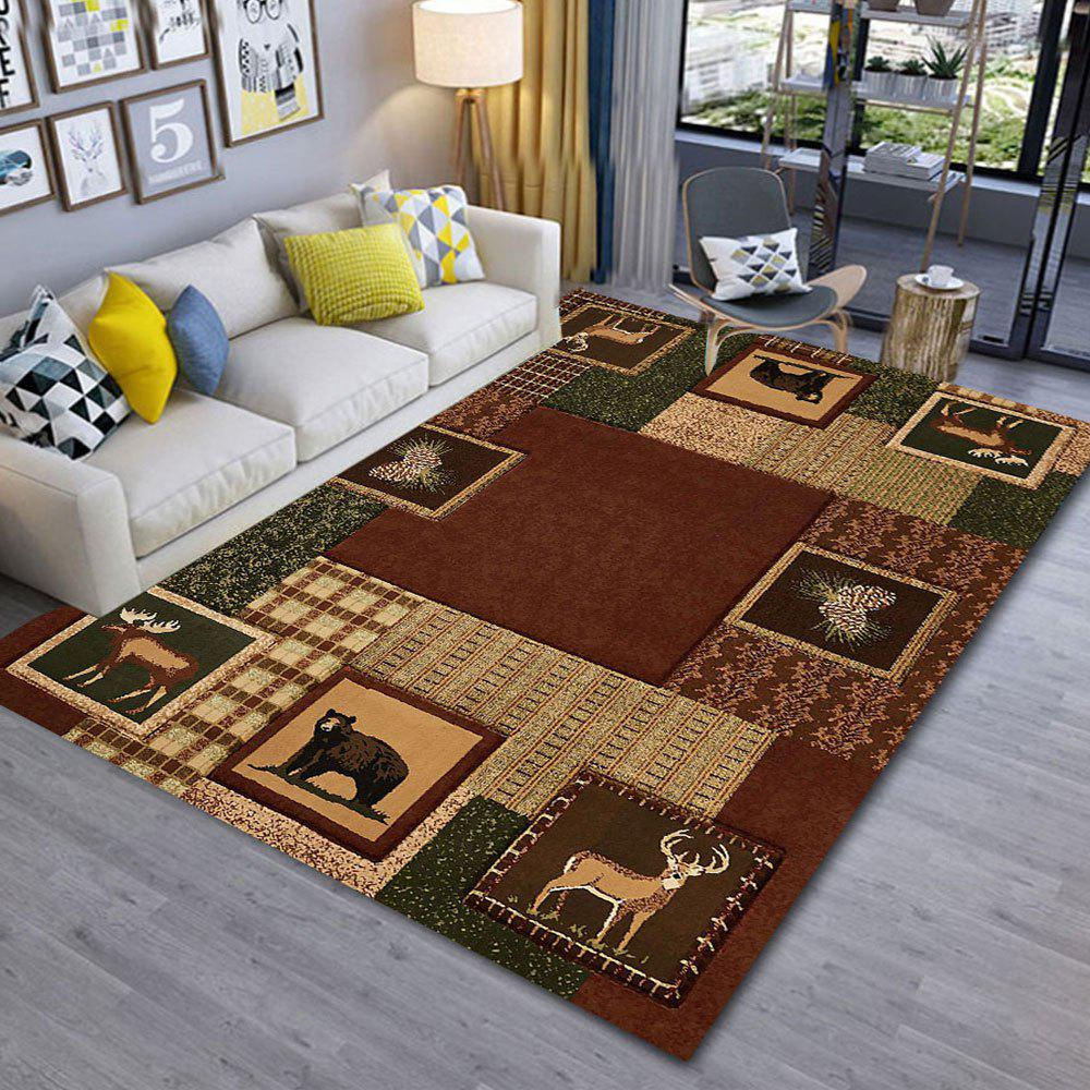Discount Copy Old and Modern Simple 3D Printing Exquisite Living Room and Bedroom Carpet