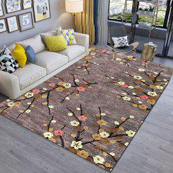 Prune simple impression 3D exquis salon et chambre à coucher tapis porte tapis porte M -