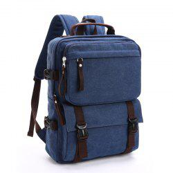 New Men's Canvas Backpack Leisure Computer Bag -