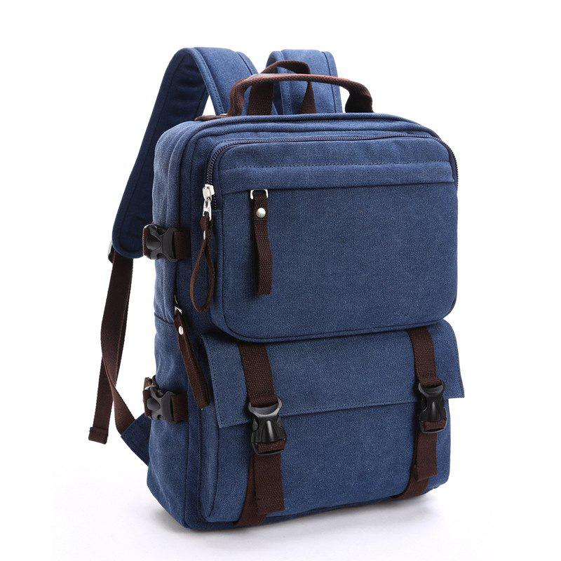 New New Men's Canvas Backpack Leisure Computer Bag