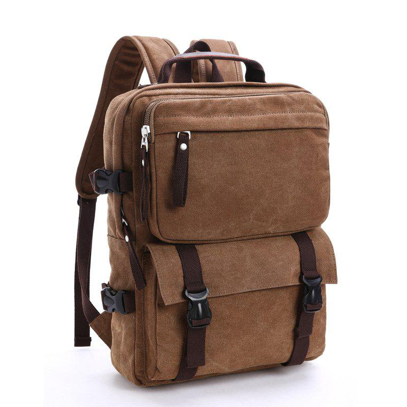 Hot New Men's Canvas Backpack Leisure Computer Bag