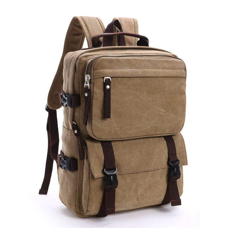 Buy New Men's Canvas Backpack Leisure Computer Bag