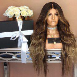 Europe and the United States points and long curly hair straight hair wigs whom -