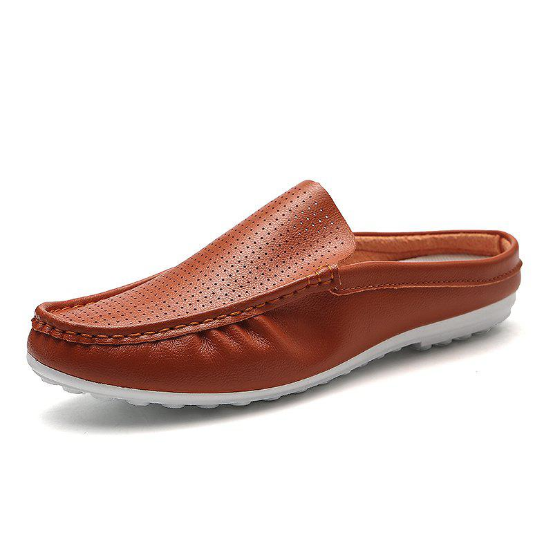 Online Fashionable Breathable Semi-Slippers