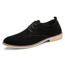 Classic Sanded Men'S Small Leather Shoes -