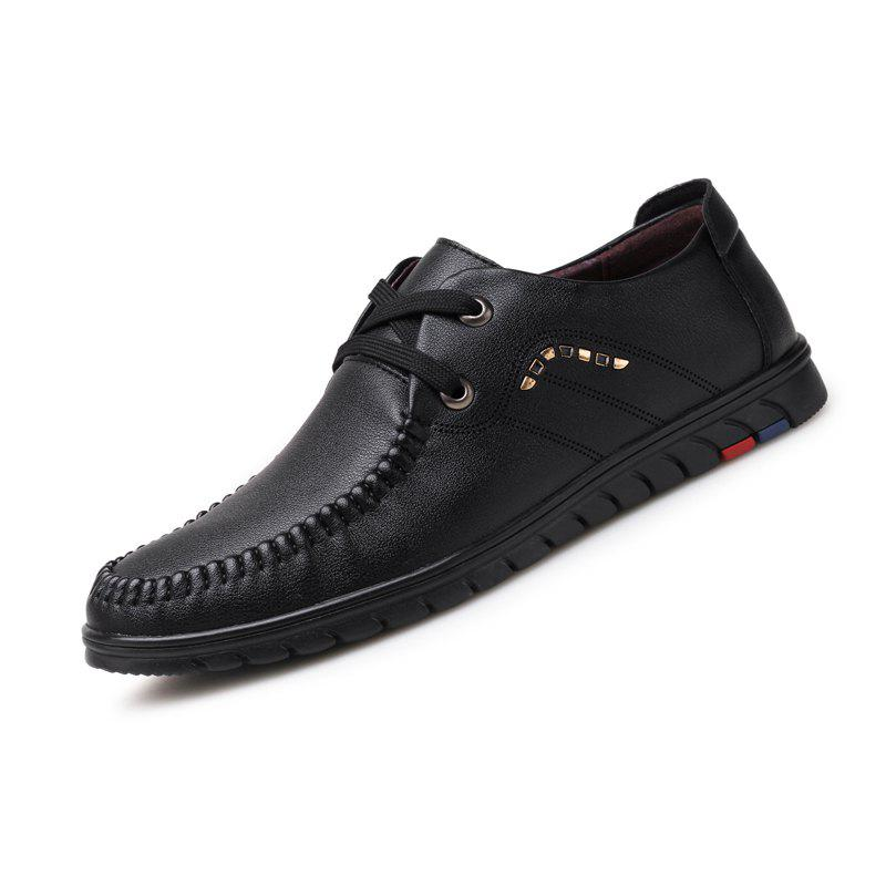 Discount Men Business Official British Casual Leather Shoes