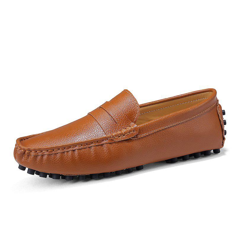 Shops Casual Shoes  Leather Driving loafers