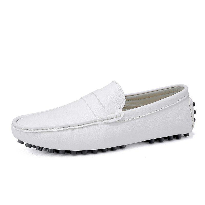 Outfits Casual Shoes  Leather Driving loafers