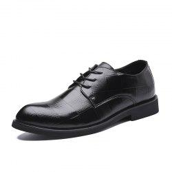 Dress Shoe Leather Wedding Shoes Formal Shoes Big Size -