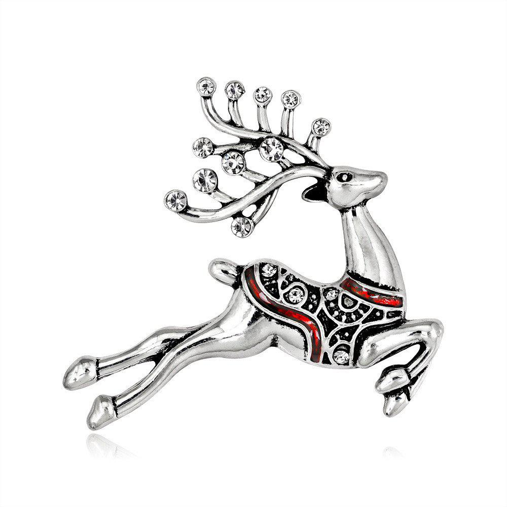 Online Fashion Christmas Series Personality Lovely Milu Deer Brooch