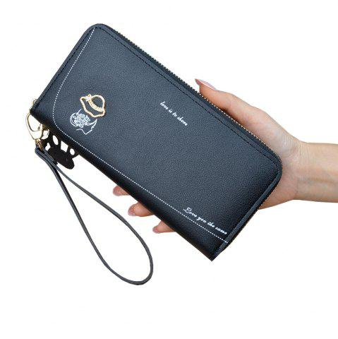 a3f7f348713 New Ladies Long Zip Coin Purse Fashion Mobile Phone Bag Large Capacity  Wallet